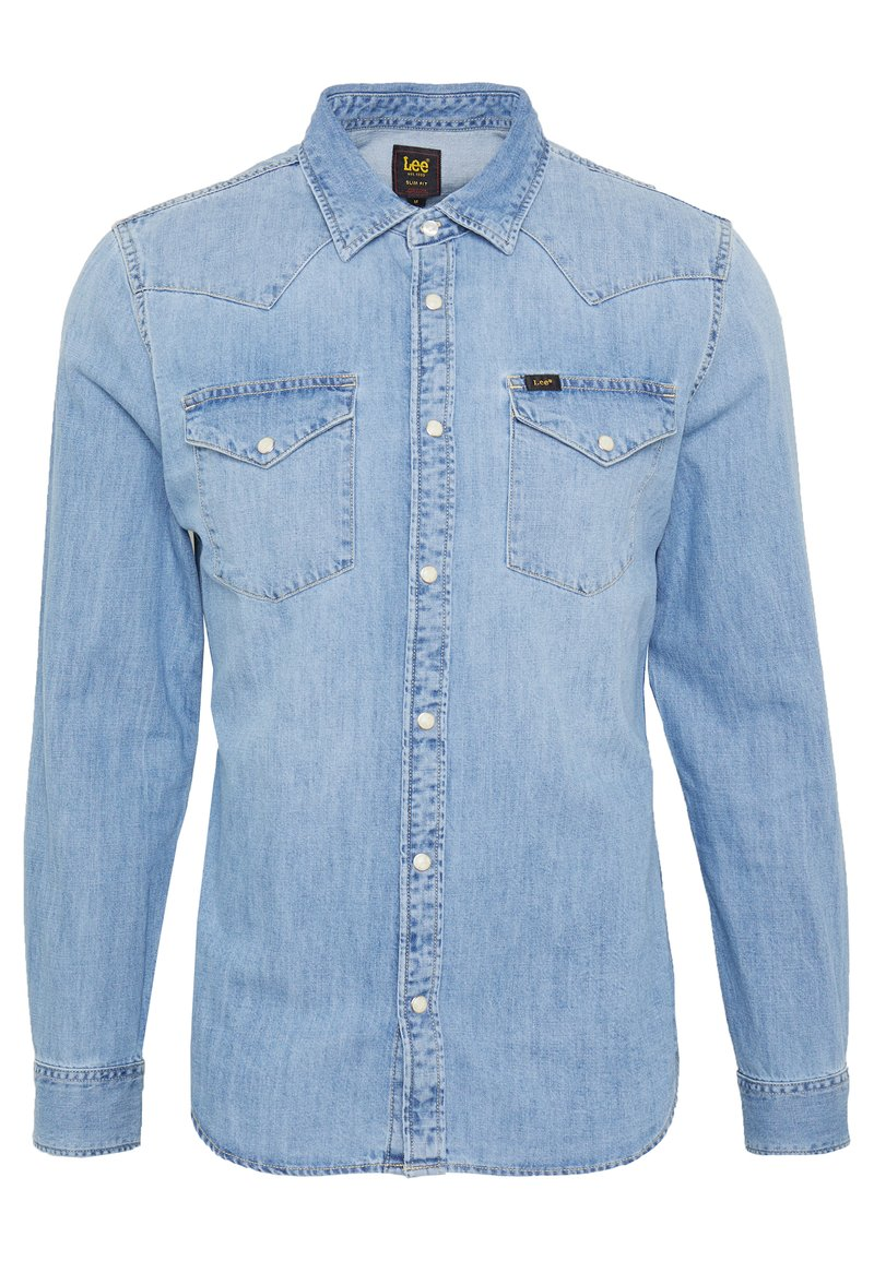 Lee - WESTERN - Camicia - frost blue