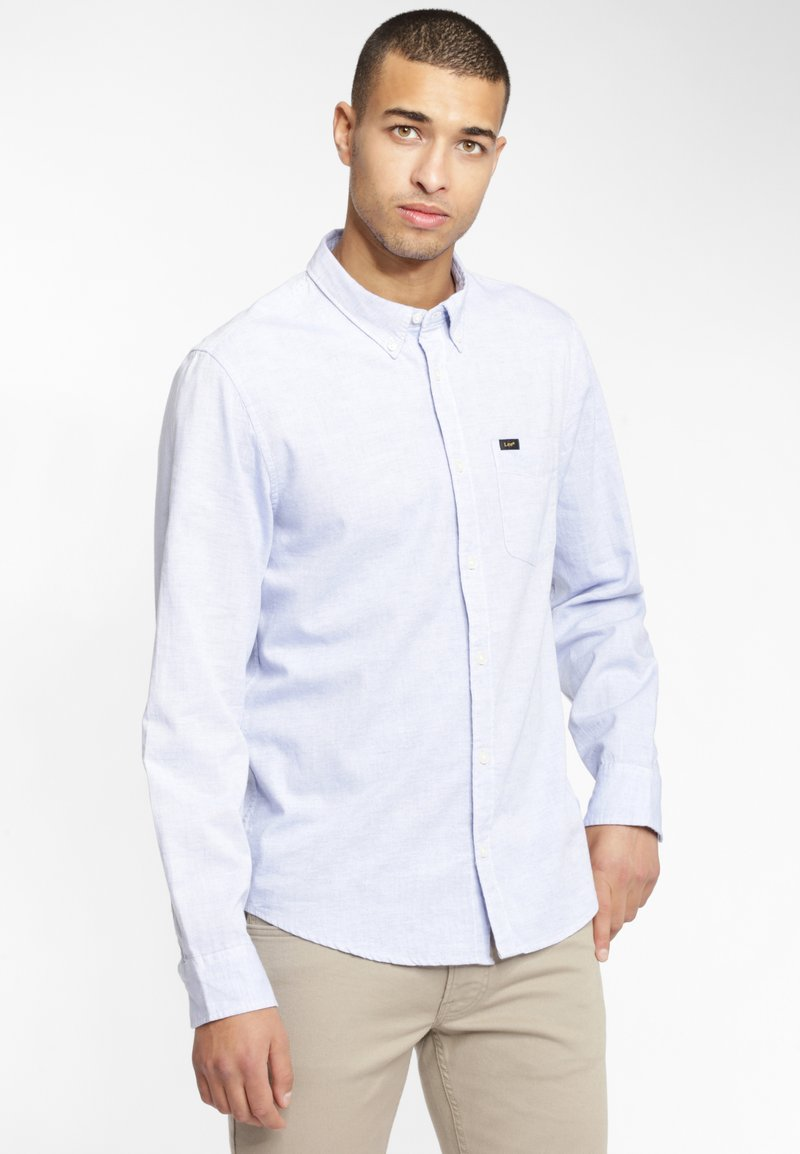 Lee - BUTTON DOWN - Overhemd - blue