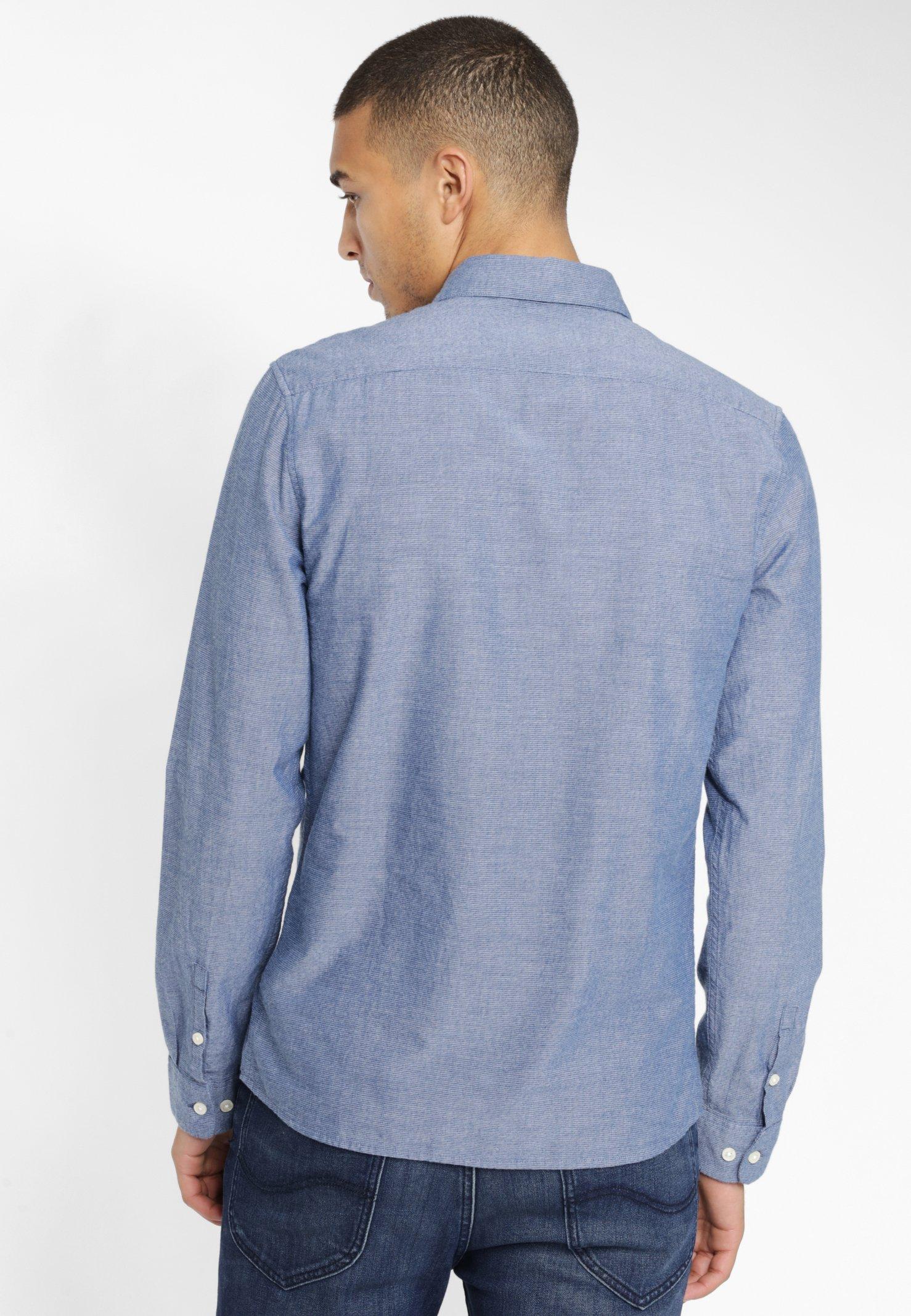 Lee Skjorta - Washed Blue
