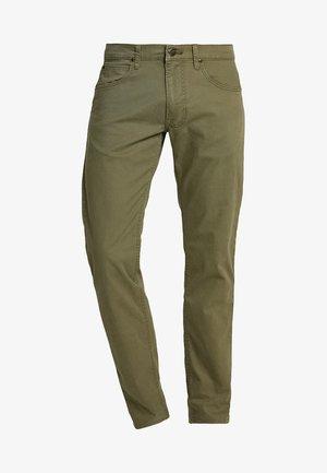 DAREN ZIP FLY - Pantalon classique - ivy green