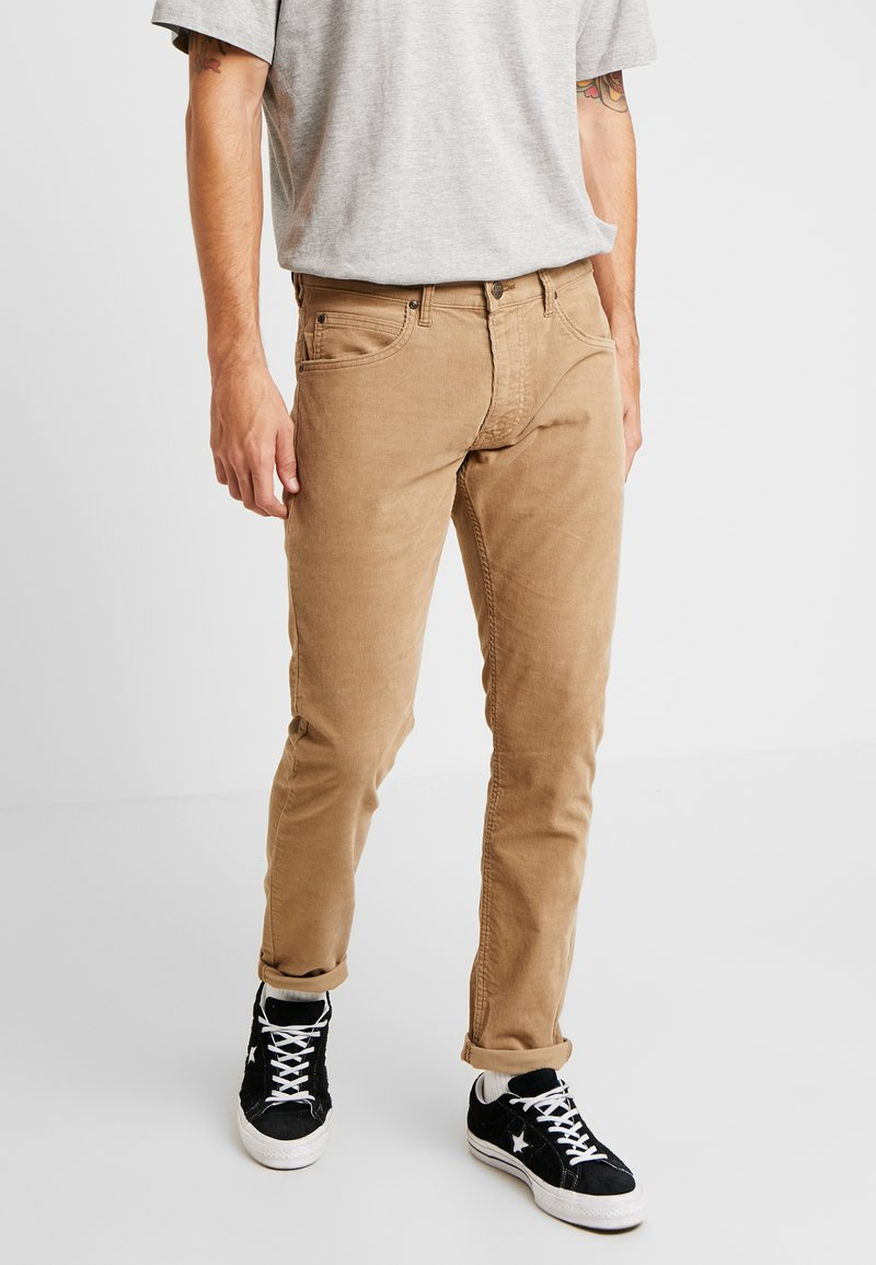 Lee - LUKE - Spodnie materiałowe - lead grey