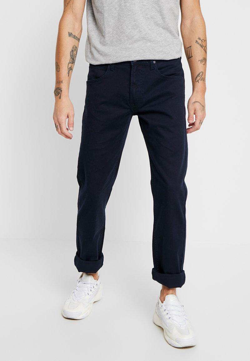 Lee - DAREN ZIP FLY  - Straight leg jeans - dark marine