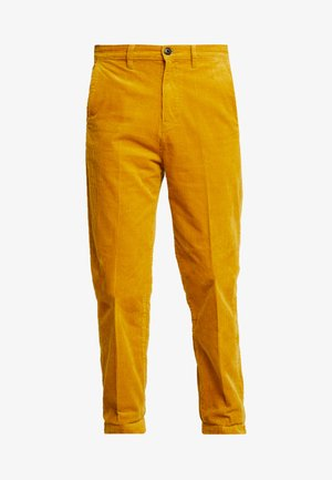 RELAXED CHINO - Spodnie materiałowe - nugget gold