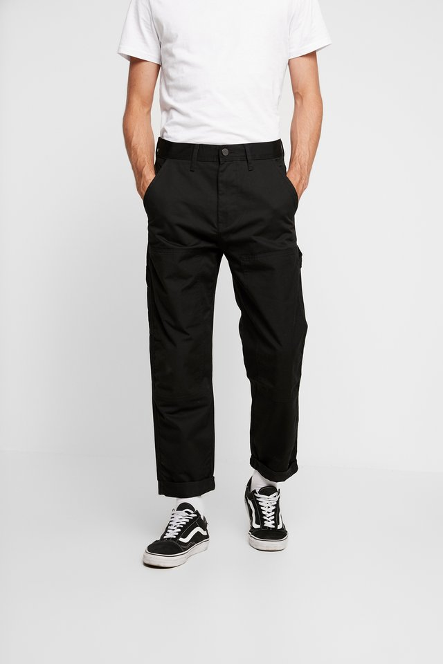 CARPENTER - Pantalon classique - black