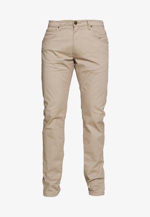 DAREN ZIP FLY - Spodnie materiałowe - anita beige