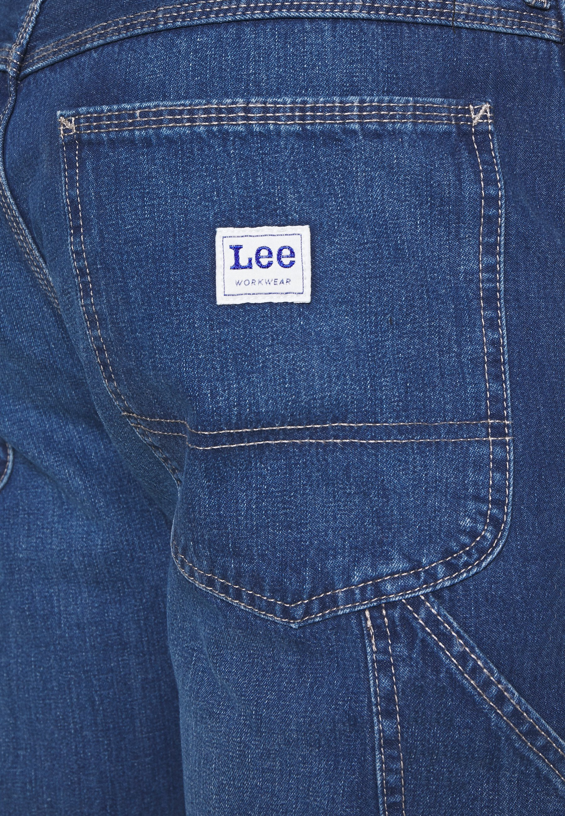 Lee CARPENTER - Jeans baggy - blue denim