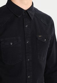 Lee - WESTERN SLIM FIT - Koszula - black - 3