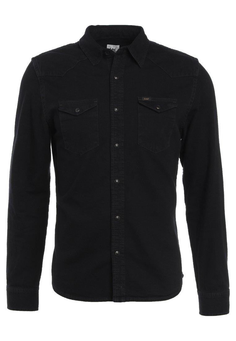 Lee Western Slim Fit - Skjorter Black