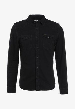 WESTERN SLIM FIT - Skjorter - black
