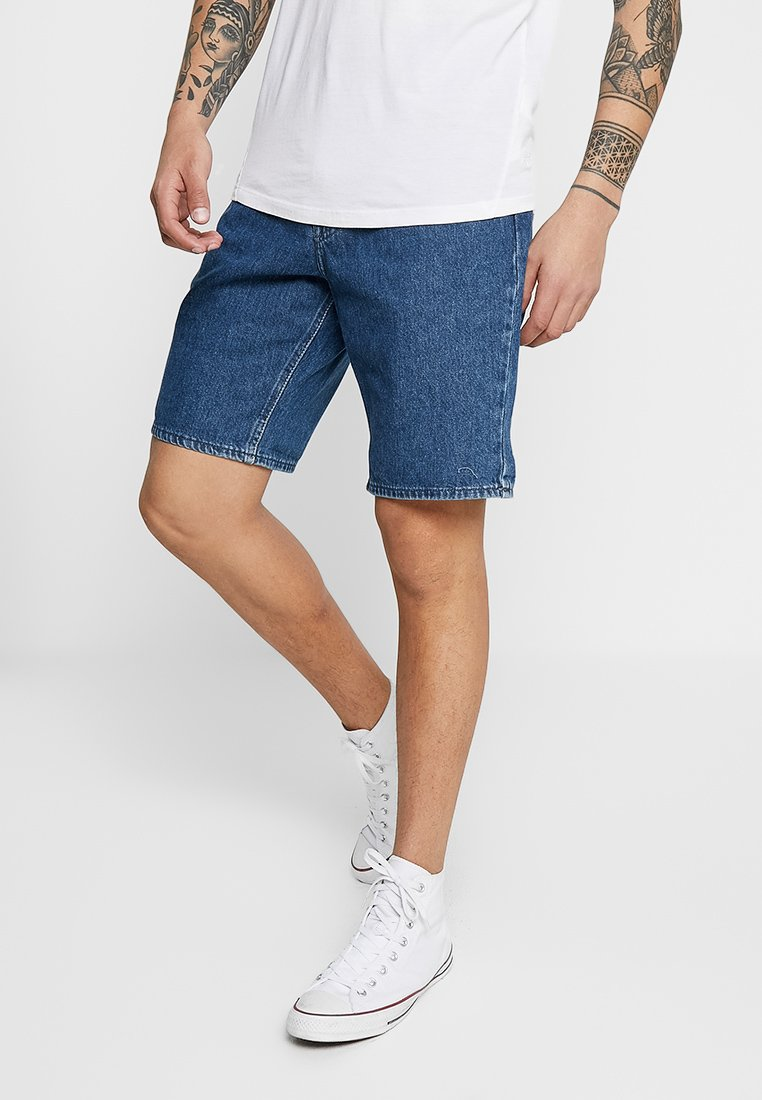 Lee - PIPES - Jeans Shorts - tic
