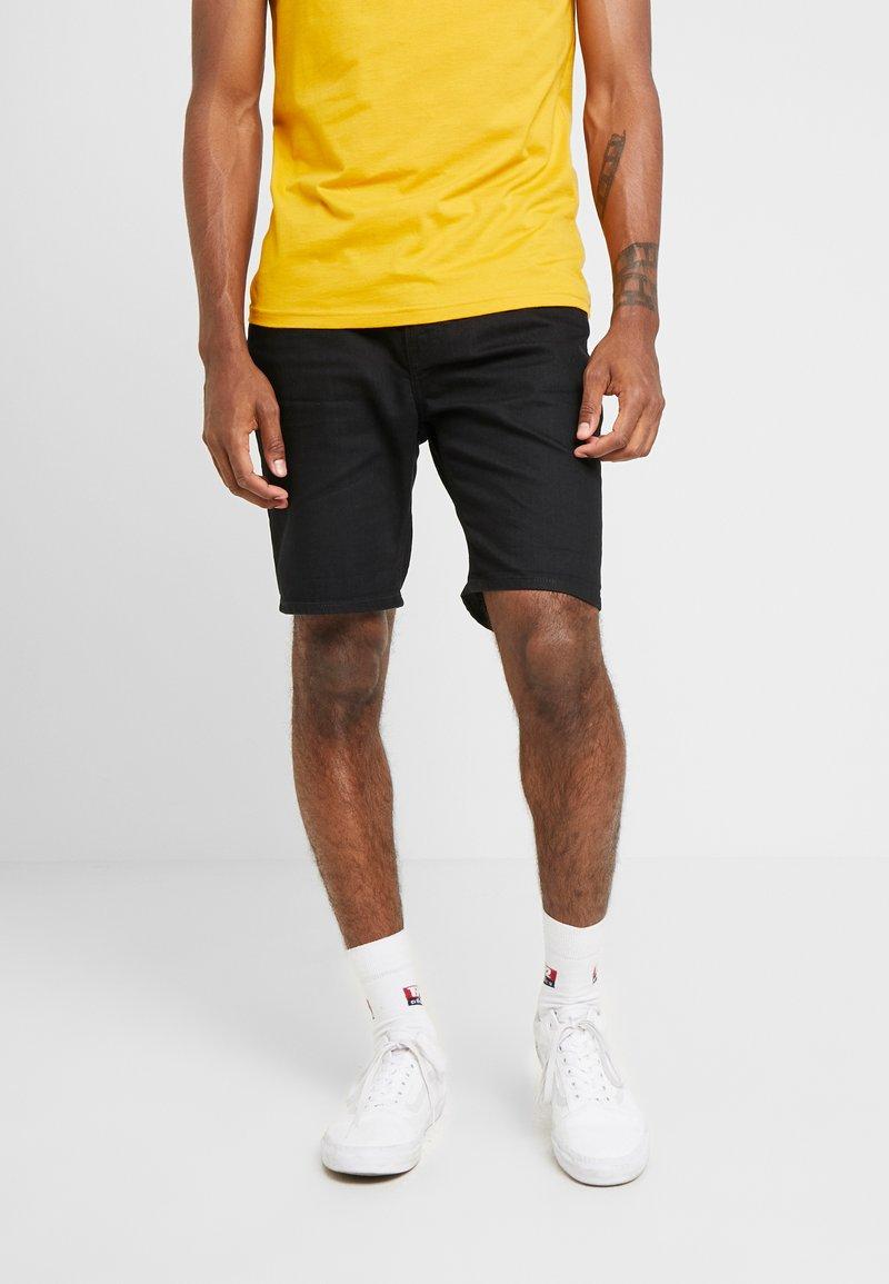 Lee - RIDER  - Jeans Shorts - black rinse