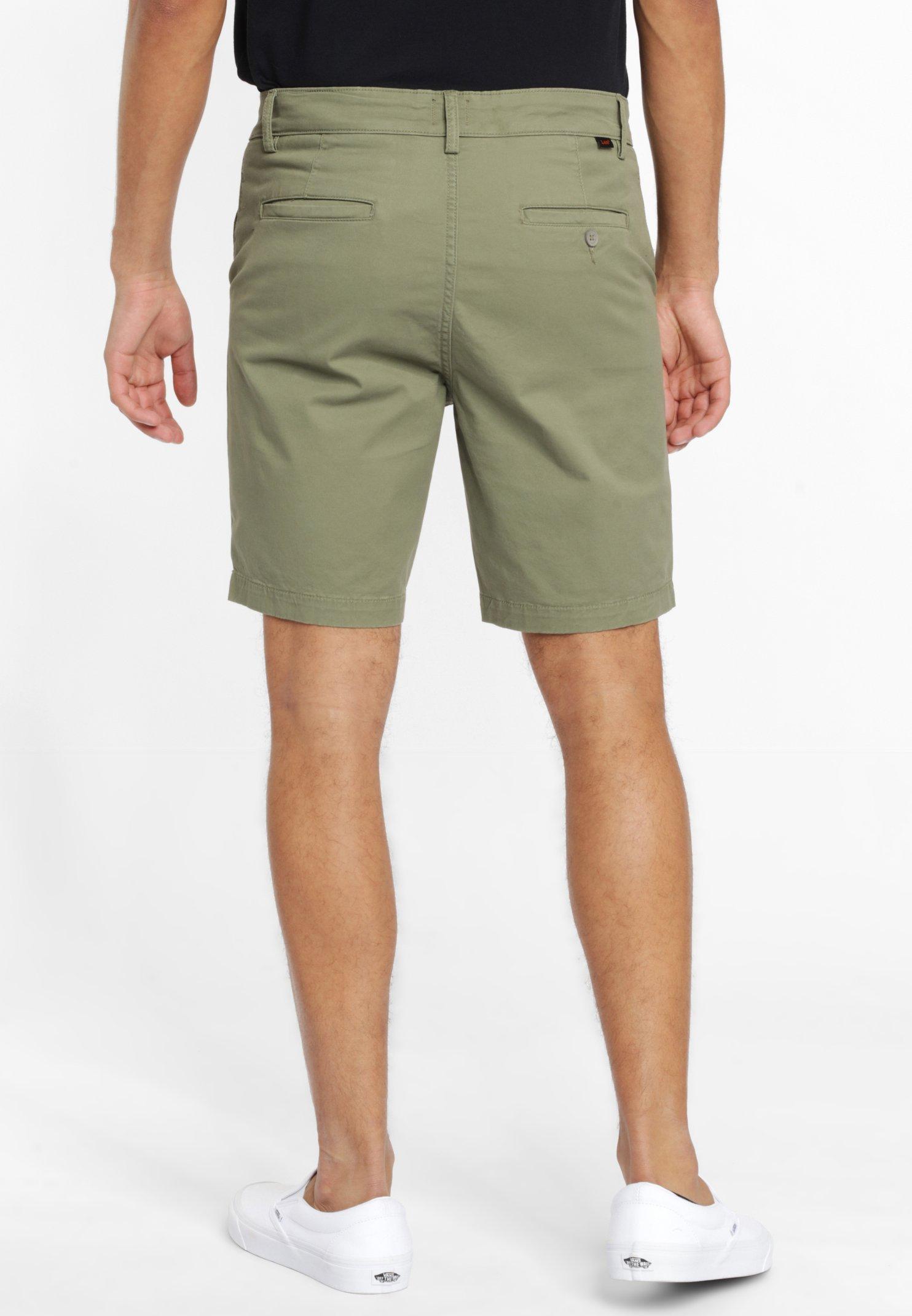 Lee Shorts - Lichen Green