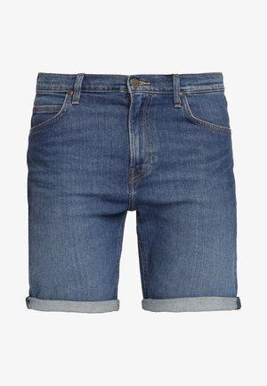 RIDER - Szorty jeansowe - blue denim
