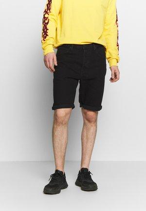 REGULAR RIDER SHORT - Jeansshort - black rinse