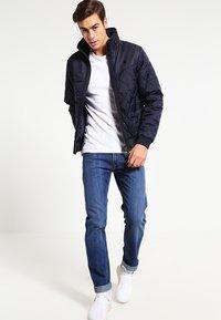 Lee - DAREN ZIP - Jeans straight leg - true blue - 1
