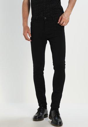 MALONE  - Skinny džíny - black rinse