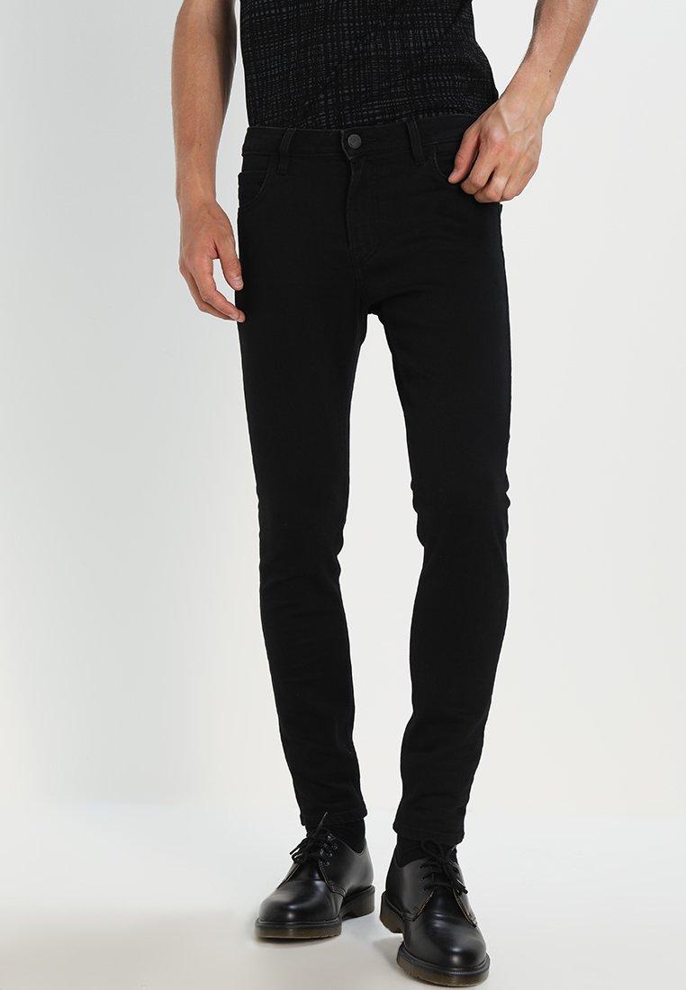 Lee - MALONE  - Skinny džíny - black rinse