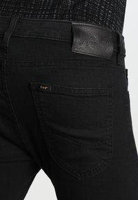 Lee - MALONE  - Skinny džíny - black rinse - 4
