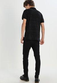 Lee - MALONE  - Skinny džíny - black rinse - 2