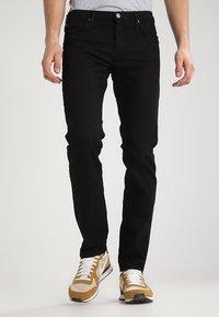 Lee - DAREN - Straight leg -farkut - clean black - 0
