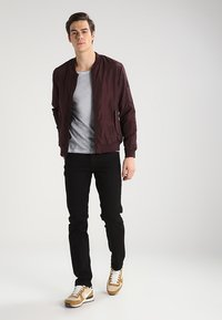 Lee - DAREN - Jeans straight leg - clean black - 1