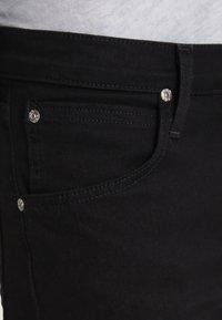 Lee - DAREN - Straight leg -farkut - clean black - 3