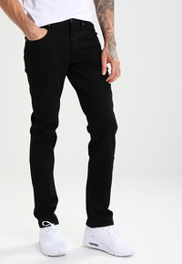 Lee - BROOKLYN STRAIGHT - Jeans a sigaretta - clean black - 0