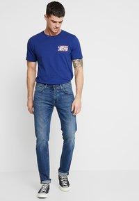 Lee - DAREN - Jeans straight leg - banshee worn - 1
