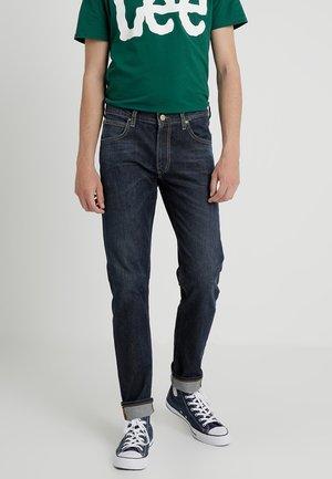 DAREN ZIP - Jeans straight leg - dark wash