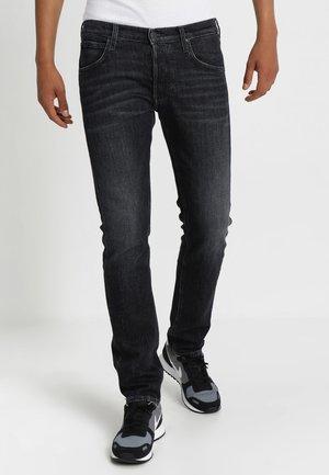 DAREN - Džíny Straight Fit - daren black worn
