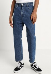 Lee - GRAZER - Relaxed fit jeans - get dark - 0