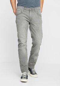 Lee - DAREN ZIP FLY - Jeans straight leg - grey denim - 0
