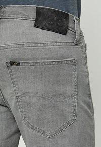 Lee - DAREN ZIP FLY - Jeans straight leg - grey denim - 3