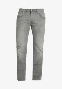 Lee - DAREN ZIP FLY - Jeans straight leg - grey denim - 4
