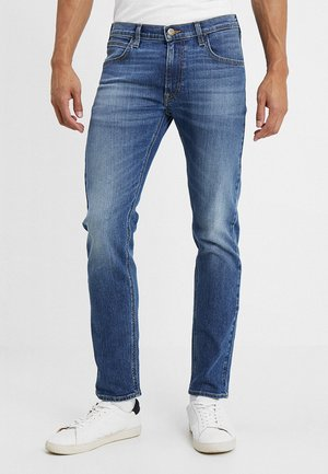 DAREN ZIP FLY - Jean droit - broken blue