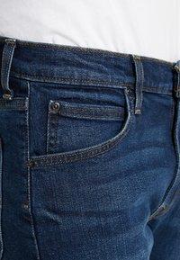 Lee - DAREN ZIP FLY - Jeans a sigaretta - dark diamond - 3