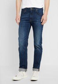 Lee - DAREN ZIP FLY - Jeans a sigaretta - dark diamond - 0
