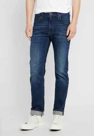 DAREN ZIP FLY - Jean droit - dark diamond