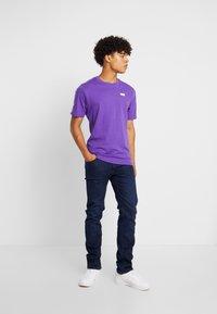 Lee - DAREN ZIP FLY - Jeans Straight Leg - dark blue wood - 1