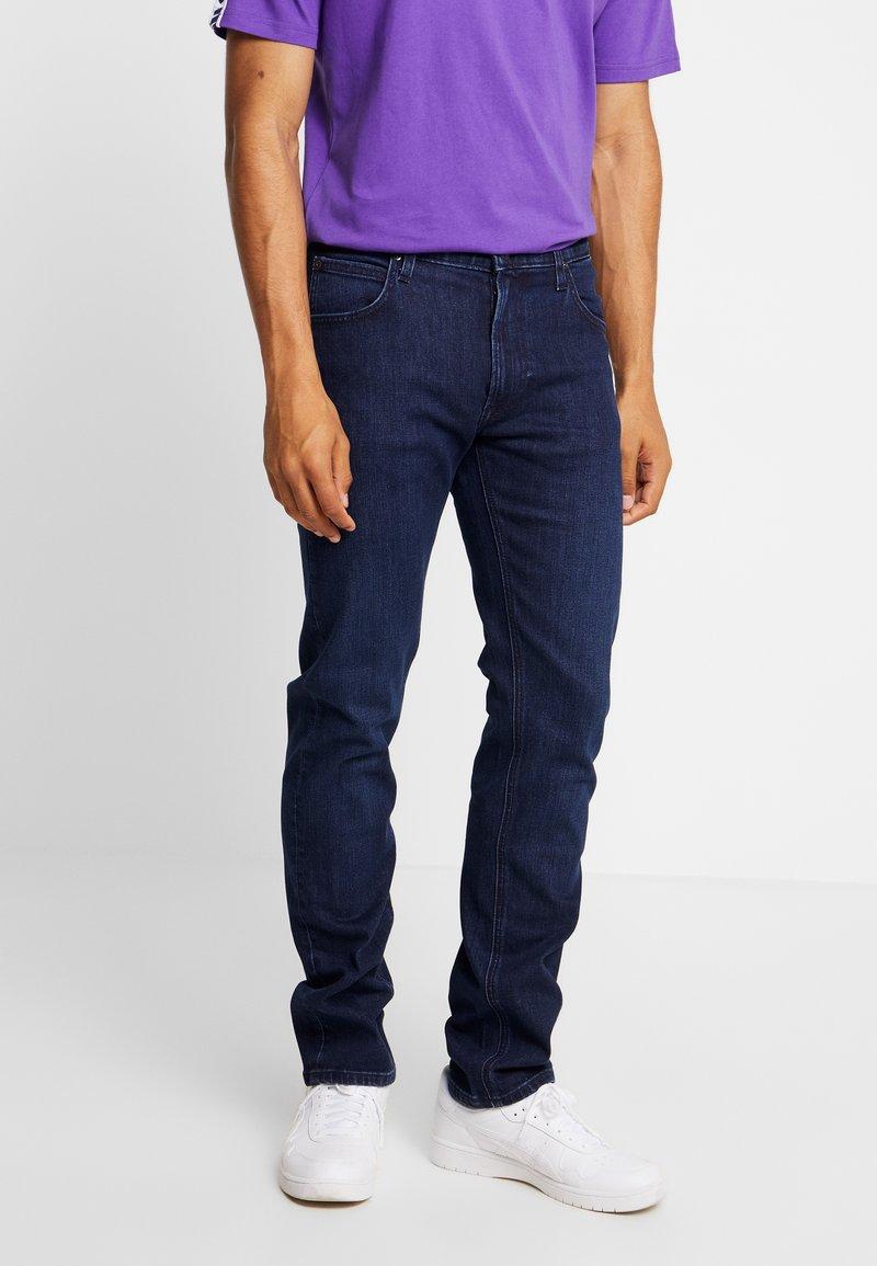 Lee - DAREN ZIP FLY - Straight leg jeans - dark blue wood