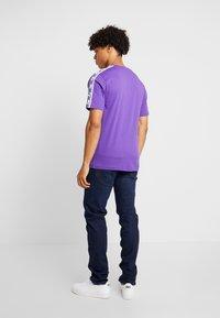 Lee - DAREN ZIP FLY - Jeans Straight Leg - dark blue wood - 2