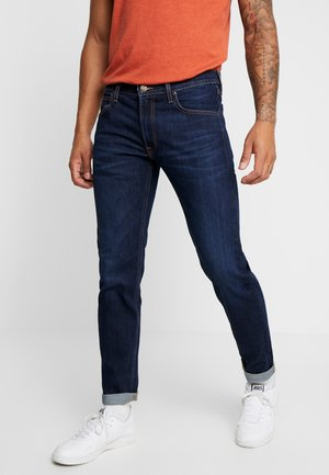 DAREN ZIP FLY - Jeans Straight Leg - dark blue elko