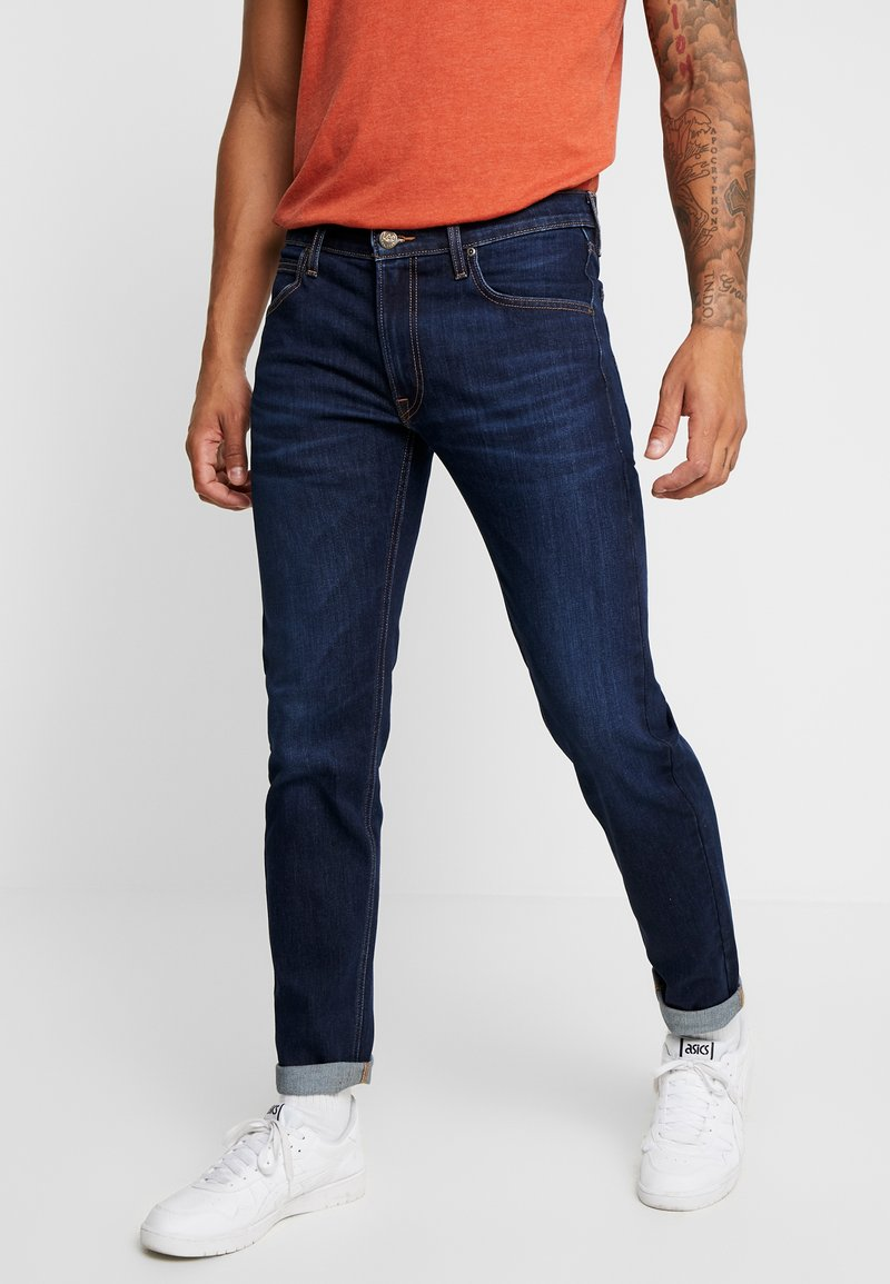 Lee - DAREN ZIP FLY - Jeans Straight Leg - dark blue elko