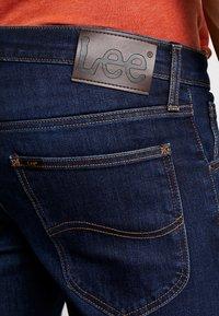 Lee - DAREN ZIP FLY - Jeans straight leg - dark blue elko - 5