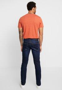 Lee - DAREN ZIP FLY - Jeans straight leg - dark blue elko - 2