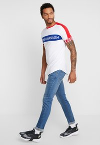 Lee - LUKE - Jeans slim fit - blue used - 1