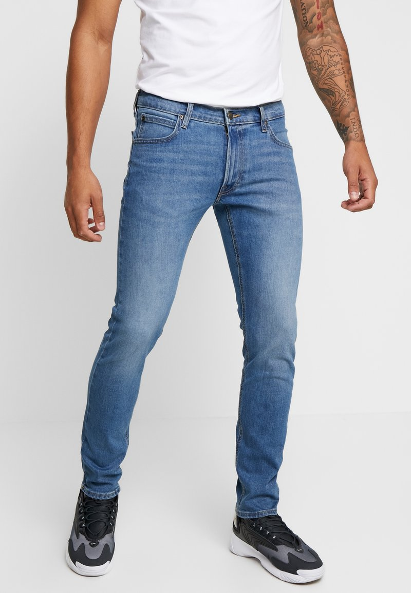 Lee - LUKE - Jeans slim fit - blue used