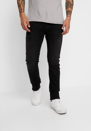 LUKE - Vaqueros slim fit - black