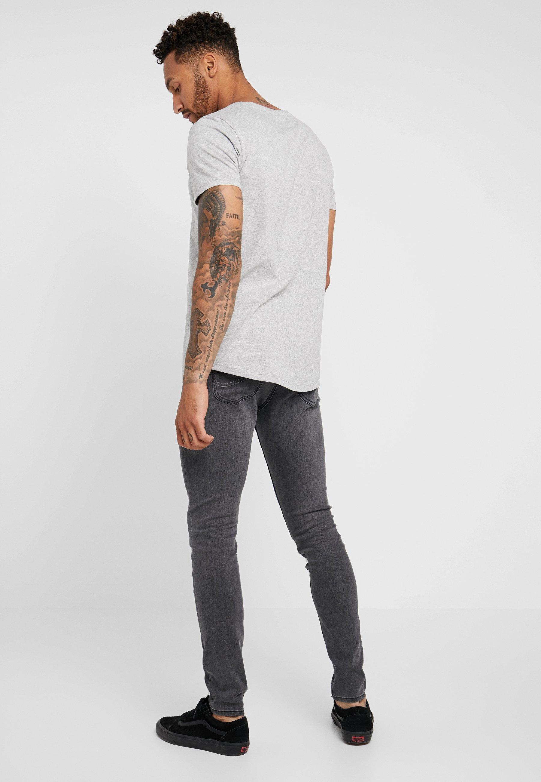 Skinny Lee MaloneJeans New Lee Grey 1JTFKlc