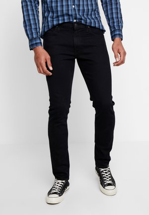LUKE - Vaqueros slim fit - blue/black wood